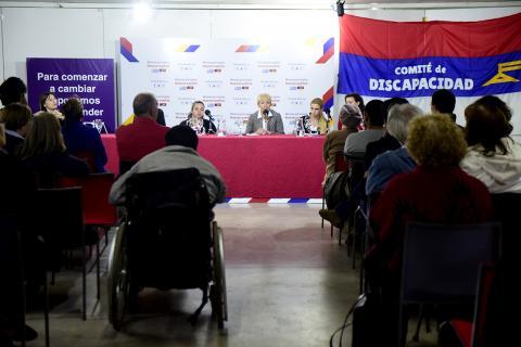Charla con el Comité Funcional de Discapacidad